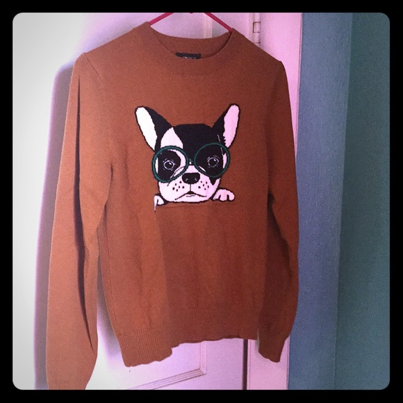 Forever 21 Sweaters - Sweater with puppy dog and glasses.